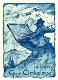 Ex-Libris Guy Onkelinx (odkaz v elektronickém katalogu)