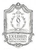 EX-LIBRIS DR.FRANCISCI SZÉKELYHIDY (odkaz v elektronickém katalogu)