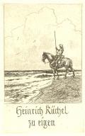 Heinrich Küchel zu eigen (odkaz v elektronickém katalogu)