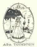 EX LIBRIS ADA TOCKSTEIN (odkaz v elektronickém katalogu)
