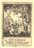 EX LIBRIS Dr. WILLY TROPP (odkaz v elektronickém katalogu)
