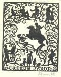 Ex libris Ludwig Thron (odkaz v elektronickém katalogu)