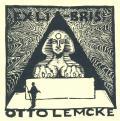 EXLI-BRIS OTTO LEMCKE (odkaz v elektronickém katalogu)