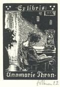 Ex libris Annmarie Thron (odkaz v elektronickém katalogu)