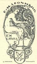 E.u H.LEONHARD EX LIBRIS (odkaz v elektronickém katalogu)