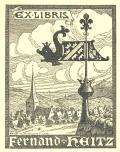 EX LIBRIS Ferdinand Heitz (odkaz v elektronickém katalogu)