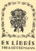 EX LÍBRÍS THEA OPPERMANN (odkaz v elektronickém katalogu)