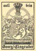 exlibris Georg Eisgruber (odkaz v elektronickém katalogu)