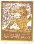 EX-LIBRIS WENCZEL LAJOS (odkaz v elektronickém katalogu)