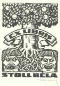 EX LIBRIS STOLL BÉLA (odkaz v elektronickém katalogu)
