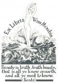 Ex Libris Wim Moubis (odkaz v elektronickém katalogu)