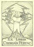 EX LIBRIS CSORIÁN FERENC (odkaz v elektronickém katalogu)