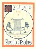 Ex-libris Josep Molas (odkaz v elektronickém katalogu)