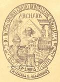 EX-LIBRIS Dr.FEDERICO Hy ALEJANDRO (odkaz v elektronickém katalogu)