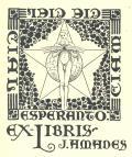 Ex-Libris J.Amades (odkaz v elektronickém katalogu)