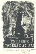 EX LIBRIS TADEUSZ SOLSKI (odkaz v elektronickém katalogu)