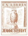 EX LIBRIS  JEANNE SCHRUFT (odkaz v elektronickém katalogu)