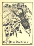 Ex Libris Che Hans Andreas (odkaz v elektronickém katalogu)