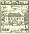 ex libris Minna Blanckertz (odkaz v elektronickém katalogu)