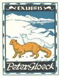 EX LIBRIS Peter Gloeck (odkaz v elektronickém katalogu)