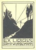 EX LIBRIS ERNST W.LANDESMANN (odkaz v elektronickém katalogu)