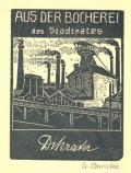 AUS DER BÜCHEREI des Stadrates Dikreiter (odkaz v elektronickém katalogu)