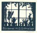 Bücherei H.G. Dikreiter (odkaz v elektronickém katalogu)