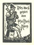 Dieses Buch gehört dem Pfeiffers Hans (odkaz v elektronickém katalogu)