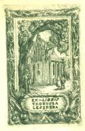 EX LIBRIS TADEUSZA LESZNERA (odkaz v elektronickém katalogu)