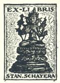EX LIBRIS STAN.SCHAYERA (odkaz v elektronickém katalogu)