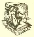 EX LIBRIS PROF.FRANC.CARBONARA (odkaz v elektronickém katalogu)