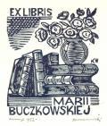 EX LIBRIS MARII BUCZKOWSKIEJ (odkaz v elektronickém katalogu)