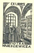 EX LIBRIS PIOTRA HNIEDZIEWICZA (odkaz v elektronickém katalogu)