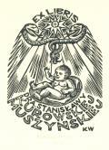 Ex libris Dra Stanisławy Kurowskiej Muszyńskiej (odkaz v elektronickém katalogu)