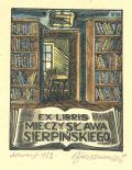 Ex libris Mieczysława Sierpińskiego (odkaz v elektronickém katalogu)
