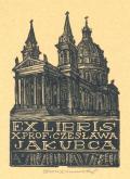 Ex libris X. Prof. Czesława Jakubca (odkaz v elektronickém katalogu)