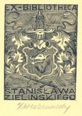 EX-BIBLIOTHECA Stanisława  Zielińskiego (odkaz v elektronickém katalogu)
