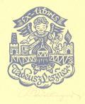 Ex-libris Tadeusz Leszner (odkaz v elektronickém katalogu)