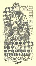 EXLIBRIS KRYSTYNY I STANISLAWA Byczewskich (odkaz v elektronickém katalogu)