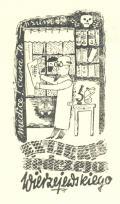 Ex libris Jędrzeja Wierzejewskiego (odkaz v elektronickém katalogu)