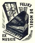 EX MUSICIS FELIKS DE NOBEL (odkaz v elektronickém katalogu)
