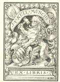 J.V.KULL MÜNCHEN EX LIBRIS (odkaz v elektronickém katalogu)