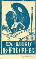 EX LIBRIS B.FORSBERG (odkaz v elektronickém katalogu)