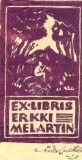 EX-LIBRIS ERKKI MELARTIN (odkaz v elektronickém katalogu)