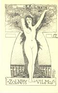 EX LIBRIS ZOLNAY VILMOS (odkaz v elektronickém katalogu)