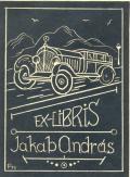 EX LIBRIS Jakab András (odkaz v elektronickém katalogu)