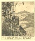 EX LIBRIS HANS WANGER (odkaz v elektronickém katalogu)