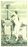 EX-LIBRIS M.GRAS-VILA (odkaz v elektronickém katalogu)