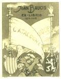 JOAN BAUCIS EX-LIBRIS 1914-1918 CATALOGNE GIQUE (odkaz v elektronickém katalogu)