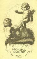 EX LIBRIS MONIKA BANGE (odkaz v elektronickém katalogu)